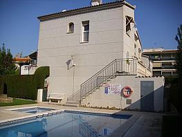 Fachada - Casa adosada en alquiler de temporada en calle Perseo, Tarraco en Cambrils - 262508849