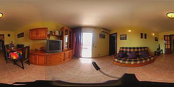 Visión VR (1) - Piso en alquiler en calle Fra Juniper Serra, Capellans o acantilados en Salou