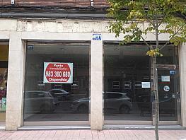 Fachada - Local comercial en alquiler en pasaje Hospital Militar, Centro en Valladolid - 357214953