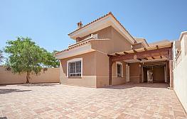 Fachada - Chalet en alquiler en calle Manijero, Mazarrón - 335209298