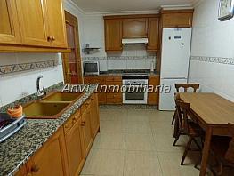 Cocina - Piso en alquiler en calle Pare Ambrosio Roda, Benaguasil - 357237644