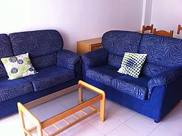 Salón - Piso en alquiler en calle Carlso III, Aguadulce - 361141746