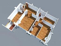 Plano - Oficina en alquiler en plaza De Castilla, Almenara en Madrid - 393024335
