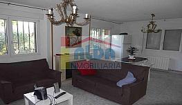 Salón - Chalet en alquiler en calle El Bosque, Villaviciosa de Odón - 375701909