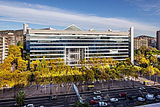 Fachada - Oficina en alquiler en Les corts en Barcelona - 157846604