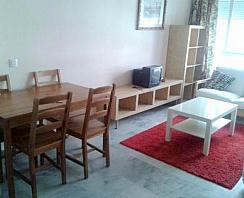 Salón - Apartamento en alquiler en calle Buhaira, La Buhaira en Sevilla - 257772933