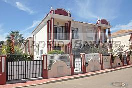 Fachada - Casa pareada en venta en calle Rosa Montero, Dehesa de Campoamor - 263180301