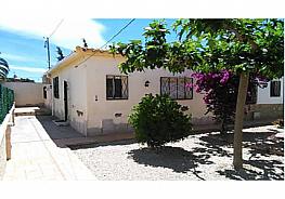 Fachada - Casa adosada en venta en calle Principes de España, Mont-Roig del Camp - 323913933