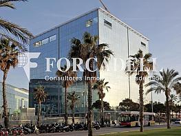 Façana - Oficina en alquiler en edificio De Joan de Borbó Ocean, La Barceloneta en Barcelona - 263424609