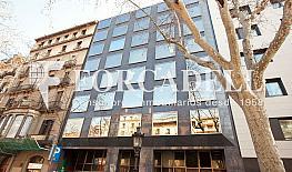 Façana - Oficina en alquiler en calle Gran Via de Les Corts Catalanes, Eixample dreta en Barcelona - 329736361