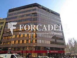 Foto fachada - Oficina en alquiler en calle Gràcia, Eixample dreta en Barcelona - 354395577