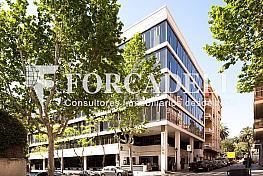 Façana - Oficina en alquiler en calle Plató, Sant Gervasi – Galvany en Barcelona - 354397140