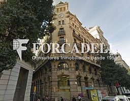 Fontanella_12_façana - Oficina en alquiler en calle Fontanella, El Gótic en Barcelona - 399742102