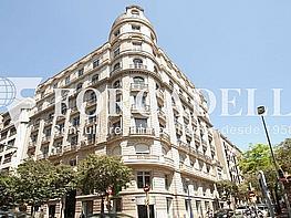 Façana - Oficina en alquiler en calle Muntaner, Sarrià en Barcelona - 380195457