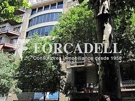 Fachada - Oficina en alquiler en calle Aribau, Eixample esquerra en Barcelona - 380195571