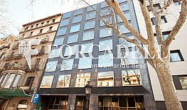 Façana - Oficina en alquiler en calle Gran Via de Les Corts Catalanes, Eixample dreta en Barcelona - 387696816