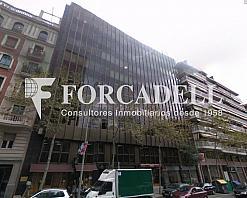 Façana edifici entença 332-334 - Oficina en alquiler en calle Entença, Eixample esquerra en Barcelona - 263426541