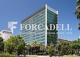 Façana - Oficina en alquiler en calle Diagonal, Les corts en Barcelona - 263437017