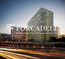 Façana - Oficina en alquiler en calle Corts Catalanes, La Marina de Port en Barcelona - 263450460