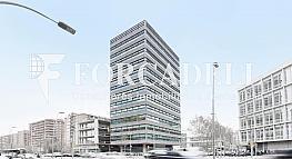 Façana - Oficina en alquiler en calle Llacuna, Provençals del Poblenou en Barcelona - 380200092