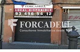 Portada2 - Local comercial en alquiler en El Clot en Barcelona - 314288122