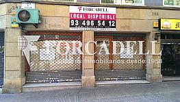 Cartel 2 - Local comercial en alquiler en Eixample dreta en Barcelona - 374536011