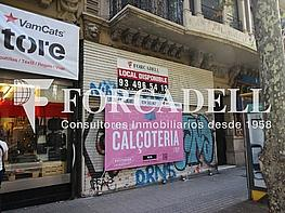 Aribau nº50 - Local comercial en alquiler en Eixample esquerra en Barcelona - 331432691