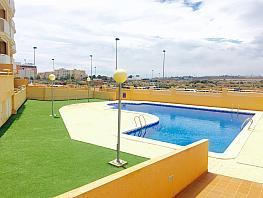 Piscina - Ático en alquiler de temporada en paseo Los Rosales, Águilas - 286288302