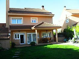 Fachada - Chalet en venta en calle Miguel de Cervantes, Alpedrete - 344832370