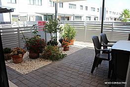 Jardín - Casa adosada en venta en calle Cami de Sanitat, Mont-Roig del Camp - 307447820