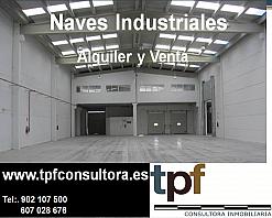 Nave industrial en alquiler en polígono Aeropuerto, Alameda Park en Manises - 293129531