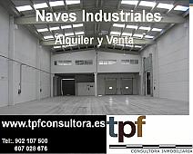 Nave industrial en alquiler en polígono Táctica, Valterna en Paterna - 172883580