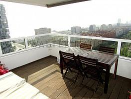Terraza - Piso en alquiler en Diagonal Mar en Barcelona - 337186576