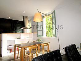 Salón - comedor - Piso en alquiler en Born-Santa Caterina-Sant Pere-La Ribera en Barcelona - 341838444