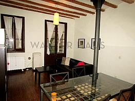 Salón-comedor - Piso en alquiler en Ciutat vella en Barcelona - 347297080