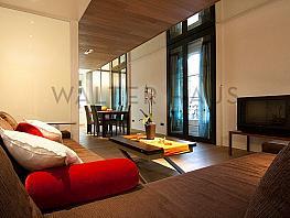 Salón-comedor - Piso en alquiler en calle Plaza Sant Josep Oriol Entl, El Gótic en Barcelona - 398431128