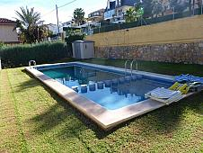 Piscina - Casa adosada en venta en calle Rio Guadalquivir, Chiva - 163137643
