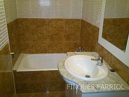 Baño - Piso en alquiler en calle Frederic Soler, Barri niloga en Reus - 296594097