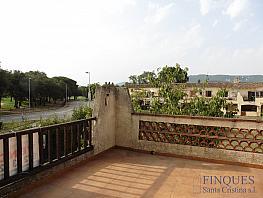 Terraza - Piso en venta en calle Canigó, Santa Cristina d´Aro - 312582322