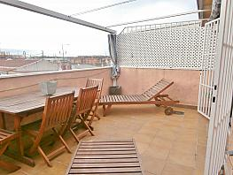 Terraza - Ático en venta en calle Vicente Carballal, Los Rosales en Madrid - 257022180