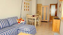 Salón - Piso en alquiler en calle Vara del Rey, Santa Eulalia en Murcia - 343461046