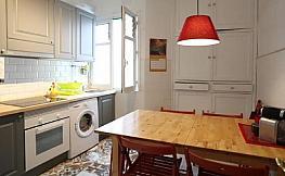 Cocina - Piso en alquiler en calle San Antonio, Centro en Gijón - 348640601