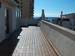 Terraza - Ático en alquiler de temporada en calle Las Palmeras, Benalmádena Costa en Benalmádena - 264379310