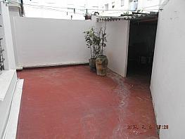 Terraza - Piso en venta en calle Virgen de Lidon, Torrefiel en Valencia - 316042251