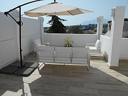 Terraza - Apartamento en alquiler en Estepona - 397223379