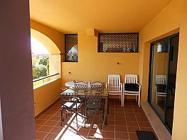 Terraza - Apartamento en alquiler en Nueva Alcántara en Marbella - 397234590