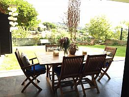 Terraza - Casa en alquiler en calle Montnegre, Vista alegre en Mataró - 349741023