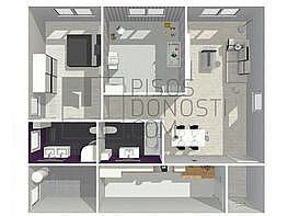 Wohnung in verkauf in San Sebastián-Donostia - 304462806