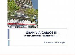 Petit appartement de vente à calle Gran Via de Carles Iii, Les corts à Barcelona - 306413580
