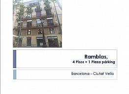 Edifici en venda carrer Ramblas, El Gótic a Barcelona - 316334688